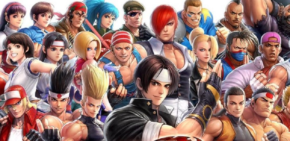 Three of the Best Characters from The King Of Fighters