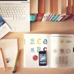 Notebook, Workplace, Desk, Iphone, Library, Study